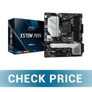 ASRock AM4 / X570M Pro4 - Best Enthusiast Motherboard for Ryzen 7 5800X