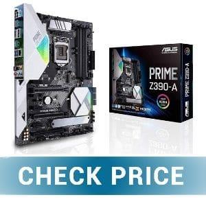 ASUS PRIME Z39A - Best Motherboard For i7 9700k For Gaming