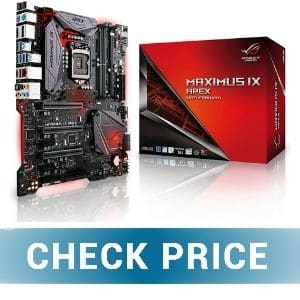 ASUS ROG Maximus X Apex - Best Value Motherboard for i7-8700K