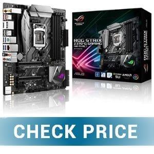 ASUS ROG STRIX Z370G - Best Motherboard For Content Creators for i7 9700K