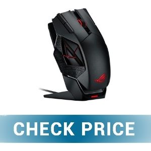 ASUS ROG Spatha - Best Budget Wireless Gaming Mouse