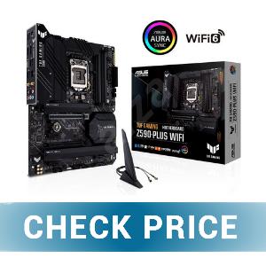 ASUS Z590 TUF Gaming Plus Wifi - Best Premium Motherboard For Ryzen 5 3600xt