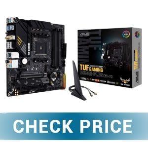 Asus TUF Gaming B550M - Best Video Editing Motherboard for Ryzen 9 5900X