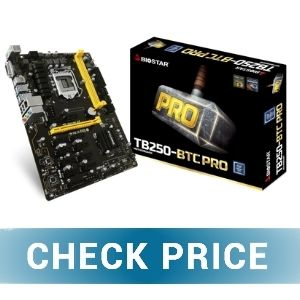 Biostar TB250-BTC Pro - Best Gaming and Mining Motherboard