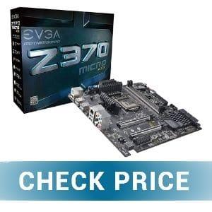 Evga Z370 Micro - Best Micro ATX Motherboard for i7-8700K