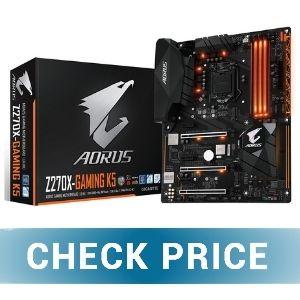 GIGABYTE AORUS GA Z270X - Best Mini-ITX Motherboard For i7-7700K
