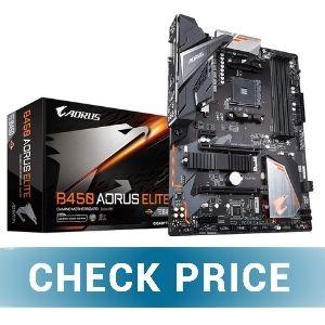 GIGABYTE B450 AORUS ELITE - Best RGB Motherboard for Ryzen 3 3200G
