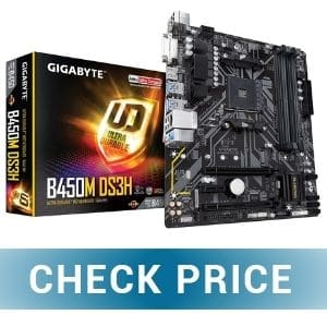 GIGABYTE B450M DS3H - Best Gaming Motherboard for 2700X