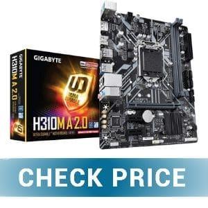 GIGABYTE H310M A 2.0 - Best Budget Motherboard for i5 9400F