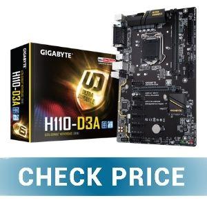 Gigabyte GA-H110-D3A - Best Budget Mining Motherboard