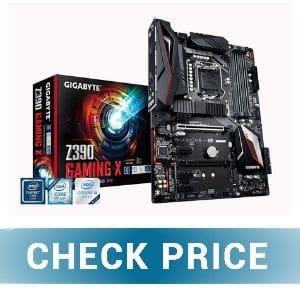 Gigabyte Z390 Gaming X - Best Budget Motherboard for i5-9600K