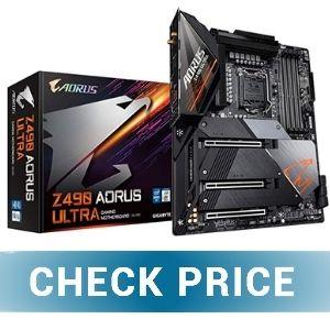 Gigabyte Z490 Aorus Ultra - Best Mini ITX Motherboard for RTX 3070
