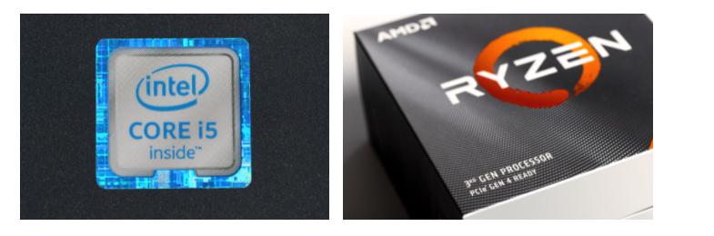 Intel or AMD processor
