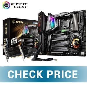 MSI MEG Z390 GODLIKE -  Best Budget Z390 Motherboard