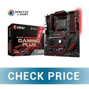 MSI X470 GPLUS - Best ATX Motherboard For Ryzen 5 2600