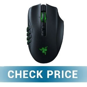 Razer Naga Trinity Pro - BEST WIRELESS RAZER MOUSE