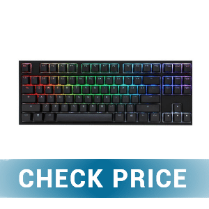 Ducky One 2 RGB TKL - BEST DUCKY KEYBOARD FOR GAMING