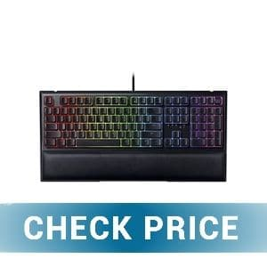 Razer Ornata V2 - Best Non-Mechanical Gaming Keyboard Under $100