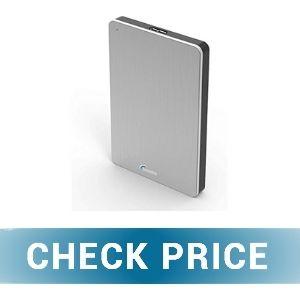 Sonnics 1TB Silver - Best Xbox Series X/S External Hard Drive