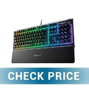 SteelSeries Apex 3 - Best Cheap RGB Keyboard