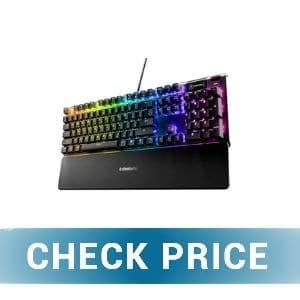 SteelSeries Apex 5 Hybrid - Best Gaming Keyboards Under 100