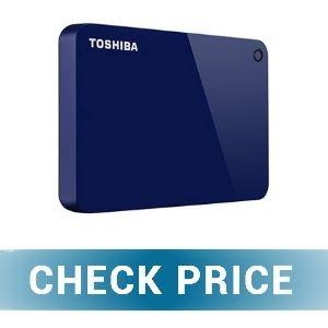 Toshiba HDTC910XL3AA Canvio - Best 1TB External Hard Drives